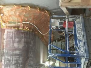 Teralani 1 chamfer panel infusion.